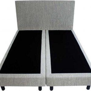 Bedworld Boxspring 120x200 - Geveerd - Seudine - Mint (ONC72)