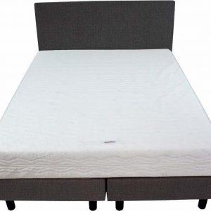 Bedworld Boxspring 140x220 - Medium - Seudine - Antraciet (ONC96)