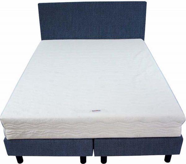 Bedworld Boxspring 140x220 - Medium - Seudine - Blauw (ONC80)