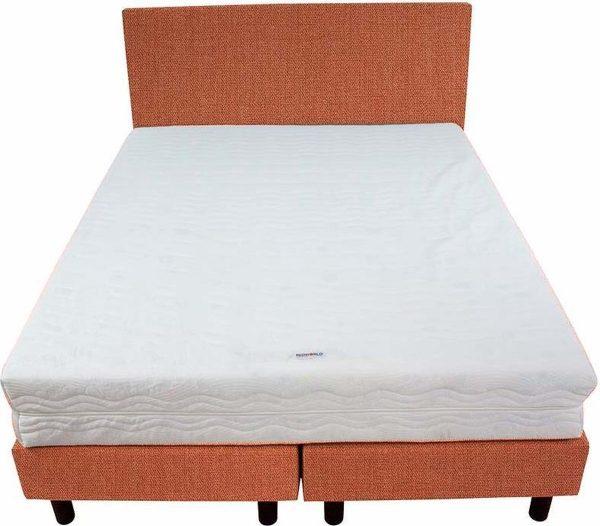Bedworld Boxspring 140x220 - Medium - Seudine - Koraal (ONC51)