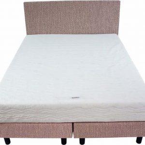 Bedworld Boxspring 140x220 - Medium - Seudine - Licht roze (ONC61)