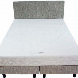 Bedworld Boxspring 140x220 - Medium - Seudine - Mint (ONC72)
