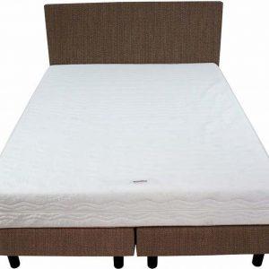 Bedworld Boxspring 140x220 - Medium - Seudine - bruin (ONC29)