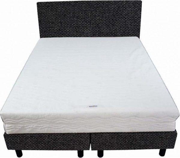 Bedworld Boxspring 140x220 - Medium - Tweedlook - Antraciet (M96)