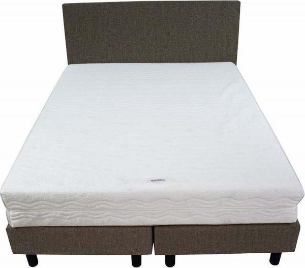 Bedworld Boxspring 140x220 - Medium - Velours - Bruin (ML20)