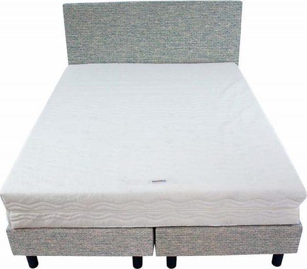 Bedworld Boxspring 140x220 - Medium - Waterafstotend grof - Mint (P72)