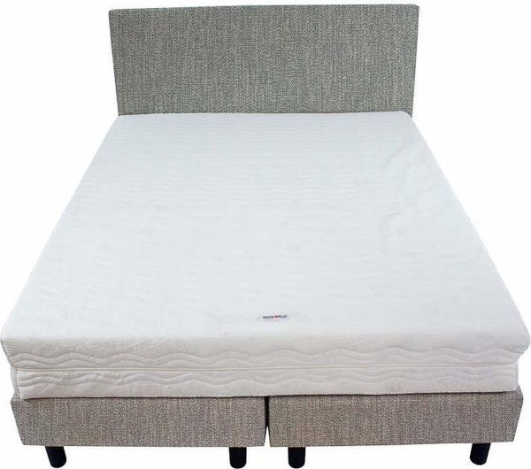 Bedworld Boxspring 140x220 - Stevig - Seudine - Mint (ONC72)