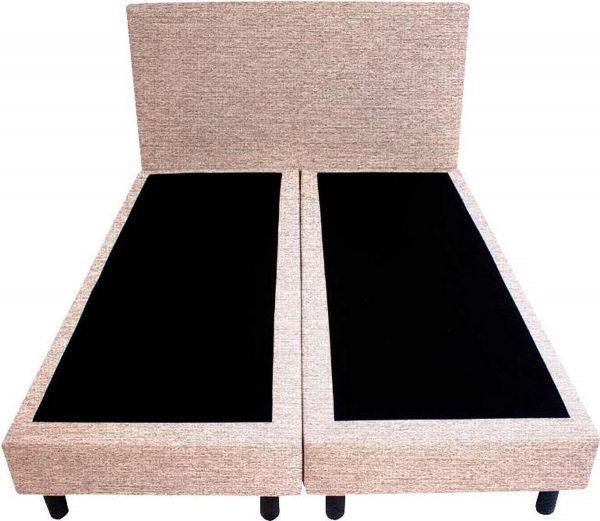 Bedworld Boxspring 140x220 - Stevig - Waterafstotend grof - Licht roze (P61)