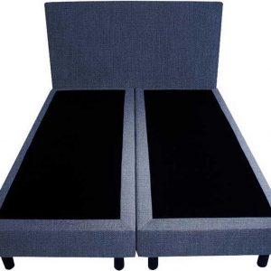 Bedworld Boxspring 160x220 - Geveerd - Seudine - Blauw (ONC80)