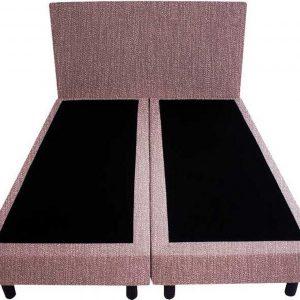 Bedworld Boxspring 160x220 - Geveerd - Seudine - Oud roze (ONC69)