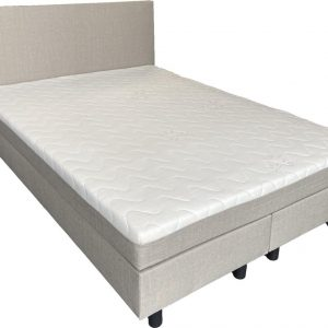 Complete boxspring Babette - 160x200 - Incl. pocketvering matras - Beige