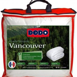 DODO Tempered Quilt Vancouver - 140 x 200 cm - Wit