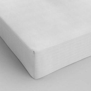 Dekbed Discounter 2-PACK Hoeslakens Katoen - Wit 140 x 200