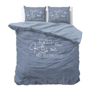 DreamHouse Bedding Always Kiss Me 1-persoons (140 x 220 cm + 1 kussensloop) Dekbedovertrek