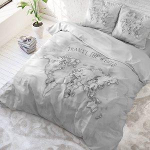 DreamHouse Bedding Marble World 1-persoons (140 x 220 cm + 1 kussensloop)