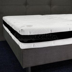 Matras Excellent 80x200 Pocketvering 500 veren m2 Koudschuim ca. 25 CM Dik