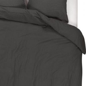 Passion for Linen Luxe dekbedovertrek Maxime 100% linnen, 240 x 220 cm, donkergrijs