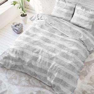 Sleeptime Elegance Mari - Grijs 1-persoons (140 x 220 cm + 1 kussensloop) Dekbedovertrek