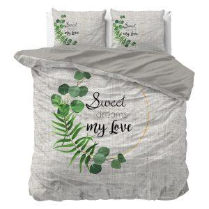 Sleeptime Indulge - Sweet my Love Dekbedovertrek Katoen - Creme - 140 x 220