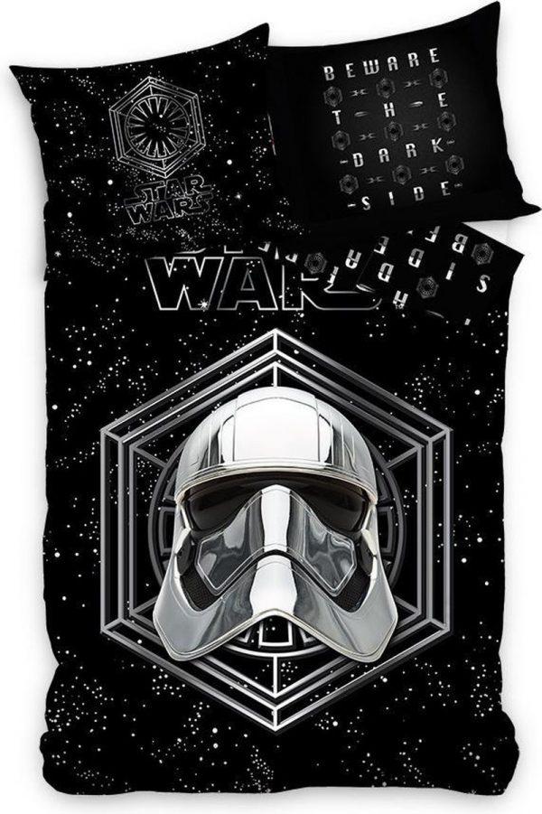 Star Wars Dekbedovertrek Stormtrooper 200 X 140 Cm Katoen Zwart