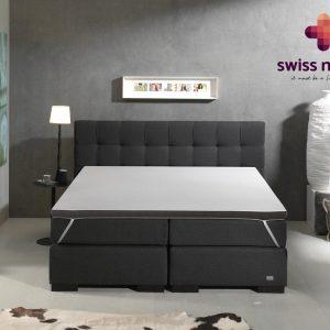 Swiss Night® Twin-Motion Topdekmatras 180x200 - Twee Persoons Topdekmatras