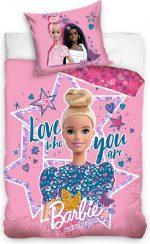 Barbie Dekbedovertrek Meisjes 200 X 140 Cm Katoen Roze