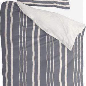 Byrklund Dekbedovertrek Steady Stripes - 140x220 - 100% Katoen - Blauw