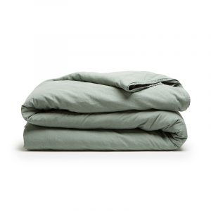 DreamHouse Bedding Stone Washed - Groen 1-persoons (140 x 200/220 cm + 1 kussensloop)