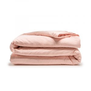 DreamHouse Bedding Stone Washed - Roze 1-persoons (140 x 200/220 cm + 1 kussensloop)