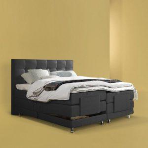Elektrische Boxspring iExclusive - Luxe Boxspring Bed - 160x200 - Complete Set - Gratis Montage