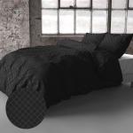 Fresh & Co Oakland - Zwart 1-persoons (140 x 200/220 cm + 1 kussensloop)
