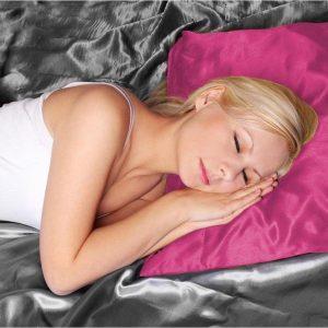 Kussensloop - Beauty Skin Care - 60x70 cm - voor stralend haar kleur PINK