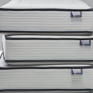 Pocketveermatras Beka Viscogel 1000 - 80 x 200 cm - tot 80 kg