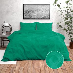 Zensation Nika - Groen 140 x 220 cm Dekbedovertrek