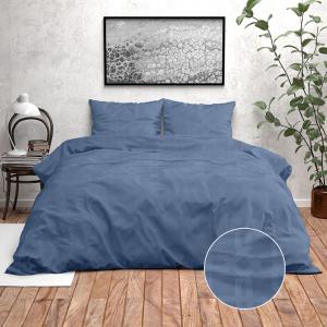 Zensation Nika - True Blue 140 x 220 cm Dekbedovertrek