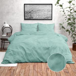 Zensation Nika - Turquoise 140 x 220 cm Dekbedovertrek