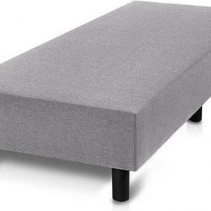 Bed4less Boxspring 90 x 200 cm - Losse Boxspring - Eenpersoons - Grijs