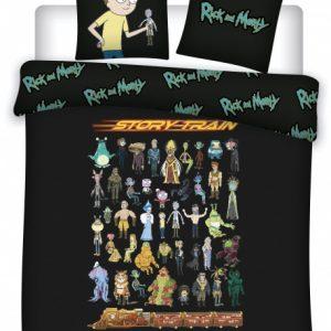 Cartoon Network dekbedovertrek Rick & Morty 240 x 220 cm