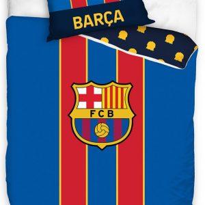 Fc Barcelona Dekbedovertrek Barca 200 X 140/70 X 90 Cm Blauw