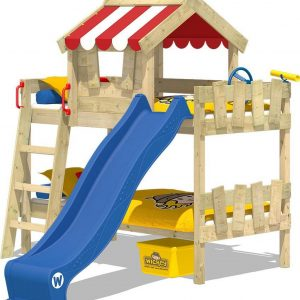 Kinderbed WICKEY CrAzY Circus Stapelbed Blauw