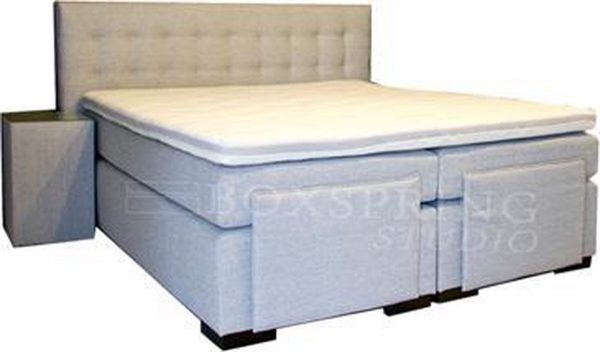 Luxe Boxspring - Box 500 - 160 x 220 - Wit
