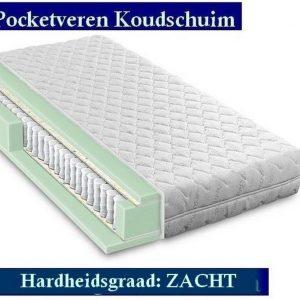 Medical Matras - Koudschuim Aloe Vera 9 zones 23 CM - HARDHEIDSGRAAD (ZACHT) - 70x220/23