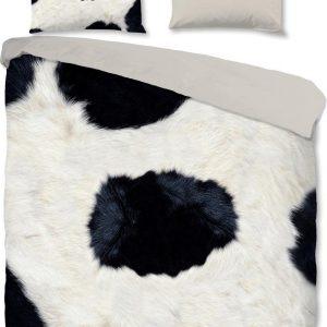 Pure Beddengoed Cowie 240 X 220 Cm Microvezel Wit/zwart