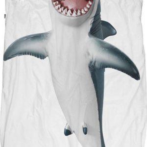Snurk Dekbedovertrek haai - 140x220 cm