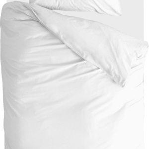 Walra Dekbedovertrek Natural Linen - 140x220 - Voor: 100% Linnen, achter: 100% Katoen Percale - Wit