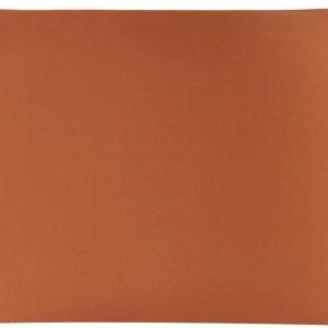 YOSMO - Zijden kussensloop - kleur terracotta - 66 cm x 51 cm - 100% Zijden - Moerbei